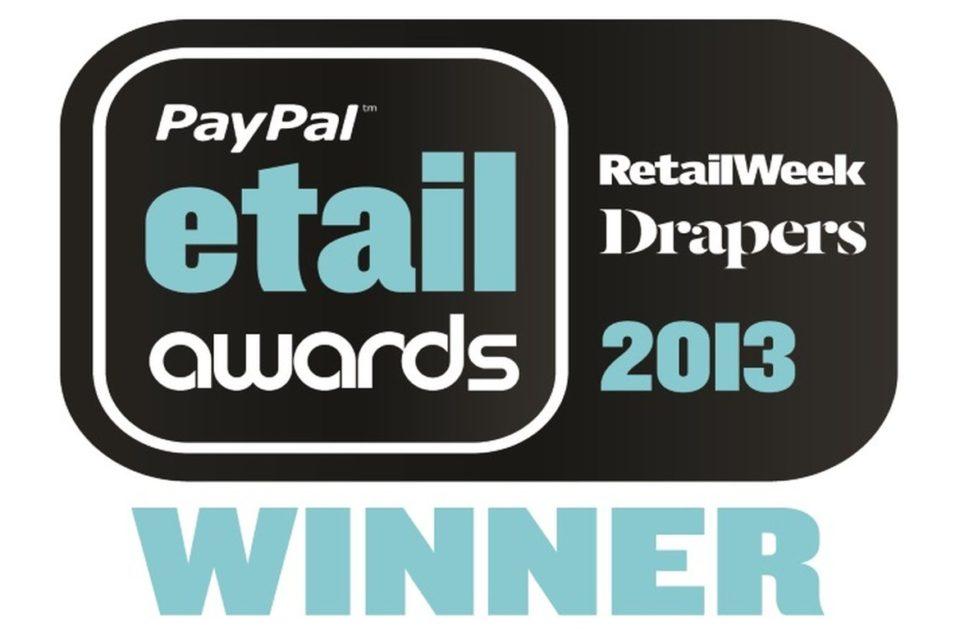 Paypal etail awards 2013